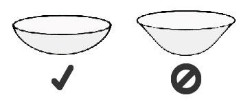 colocación de la s lentillas