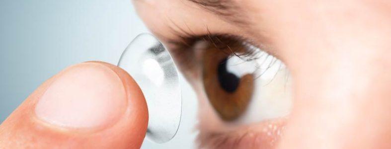uso de lentes de contacto